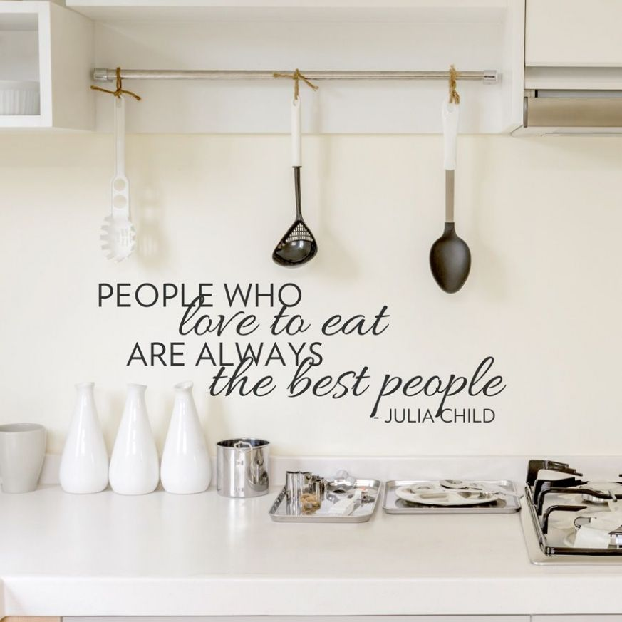 The Best People Wall Quote Decal | Cool rooms, Home decor, Home - kitchen ideas quote