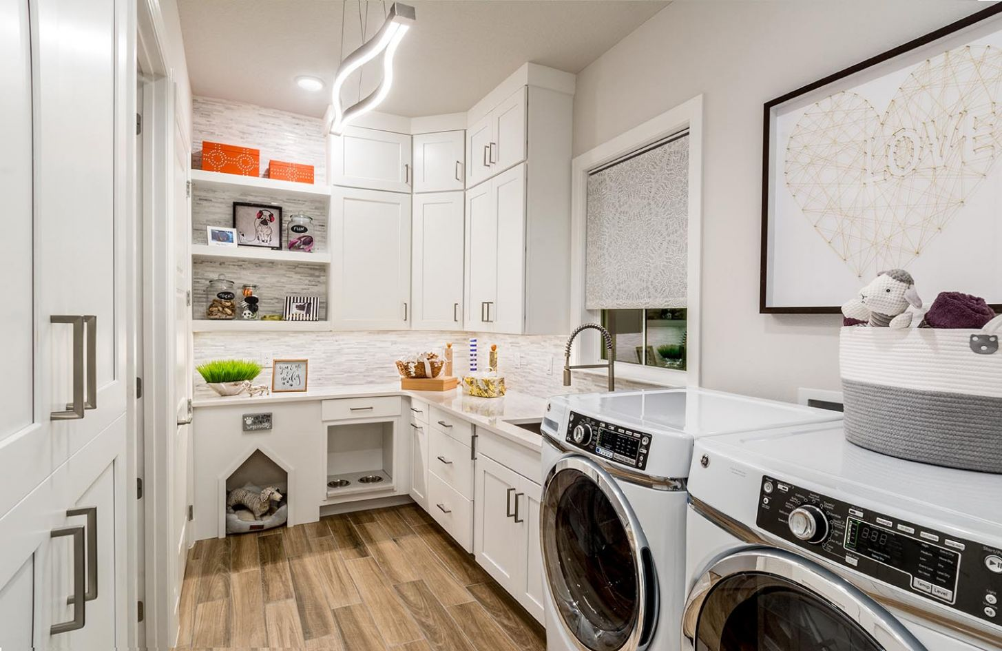 The Connected Laundry Housing Design Matters - laundry room near bedrooms
