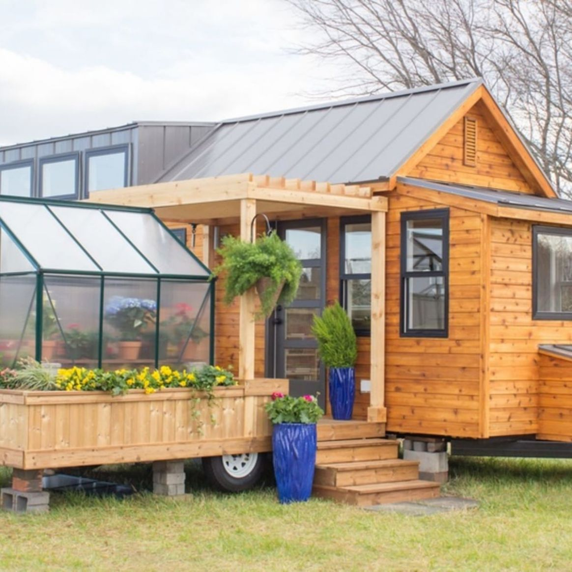 The Elsa - Tiny House for Sale in Taylors, South Carolina - Tiny House  Listings - tiny house listings