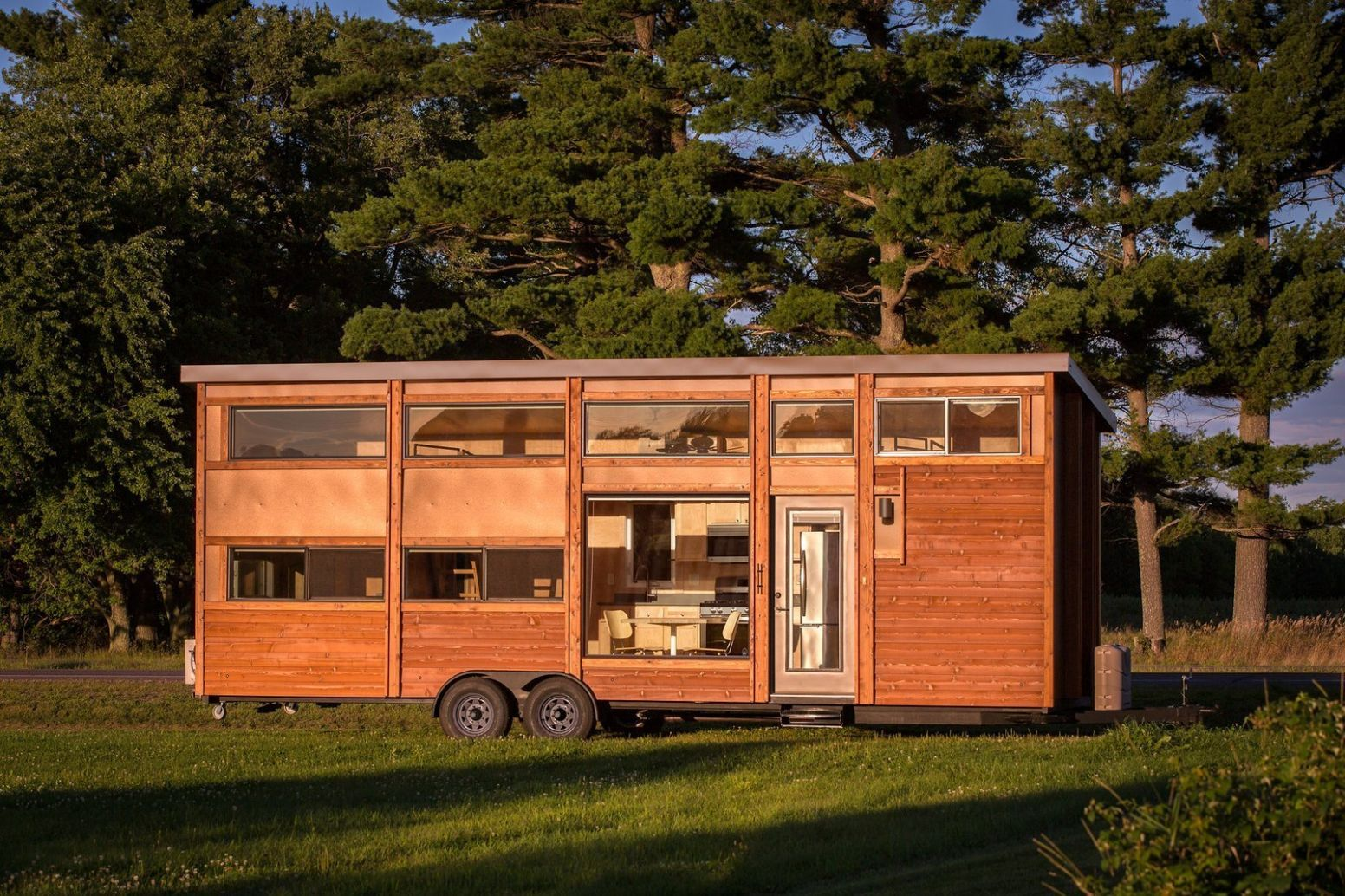 The Largest Tiny Home Resort in the Midwest Is Now Open - Dwell - tiny house wisconsin
