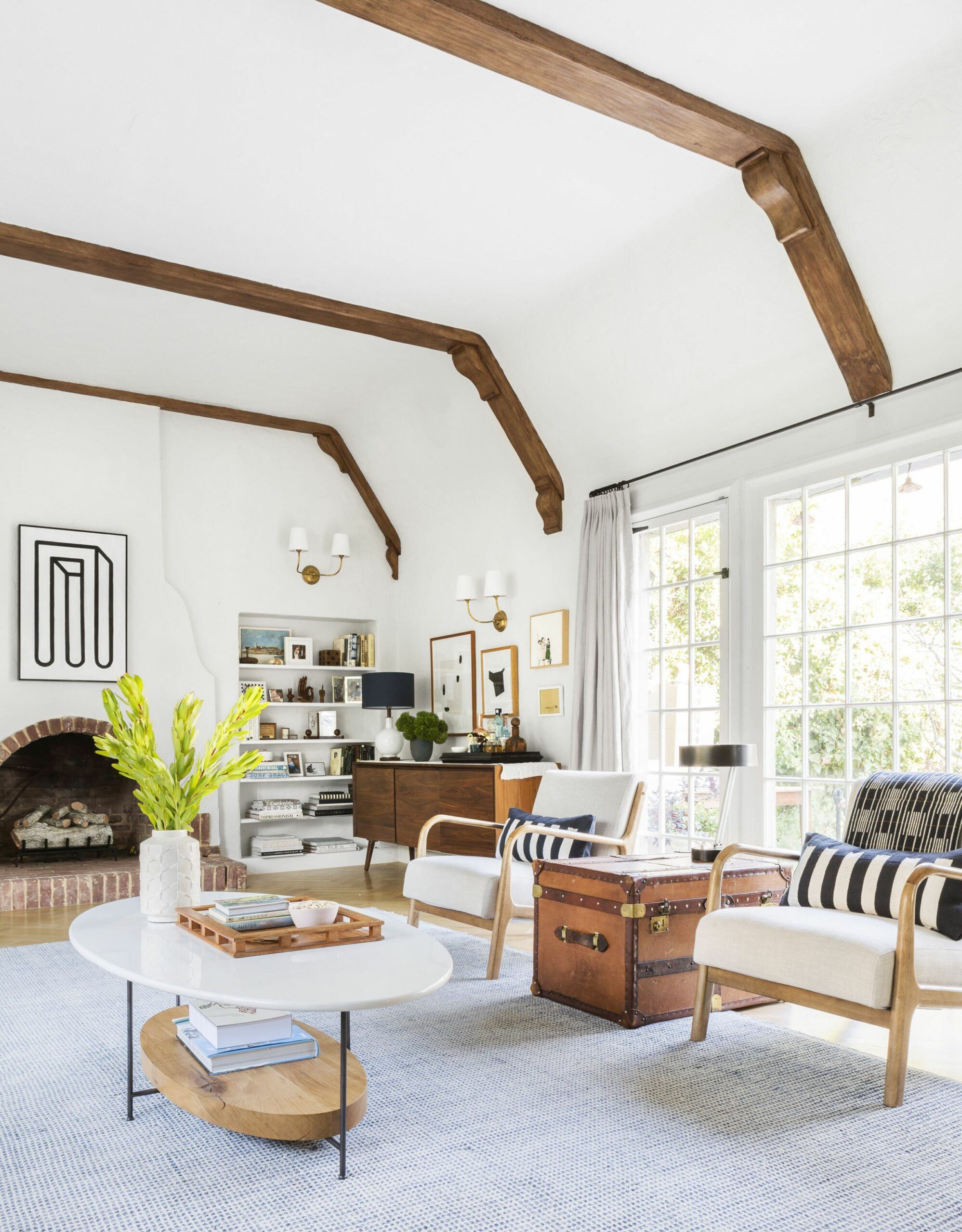 The Living Room Rules You Should Know - Emily Henderson - living room ideas with just chairs