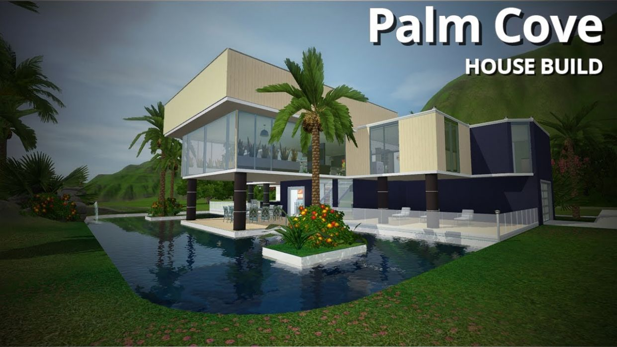 The Sims 12 House Building - Palm Cove (w/ Simified) - house building inspiration