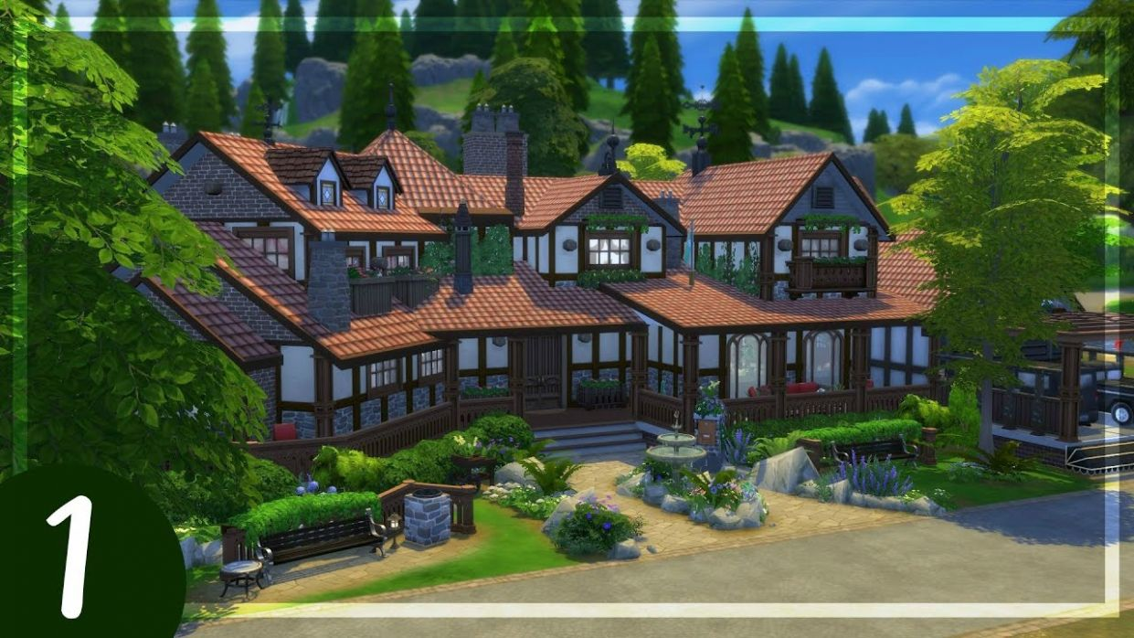 The Sims 122 | House Building | Rosie Mansion (Tudor Inspired) - Part 12 - house building inspiration