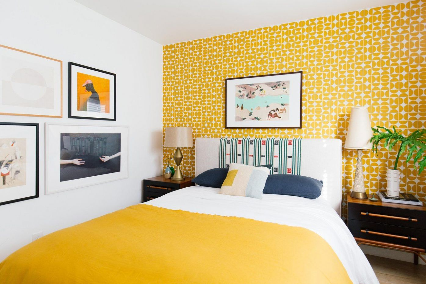 These 8 Yellow Bedroom Ideas Are Cheerfully Bright   Bedroom ..