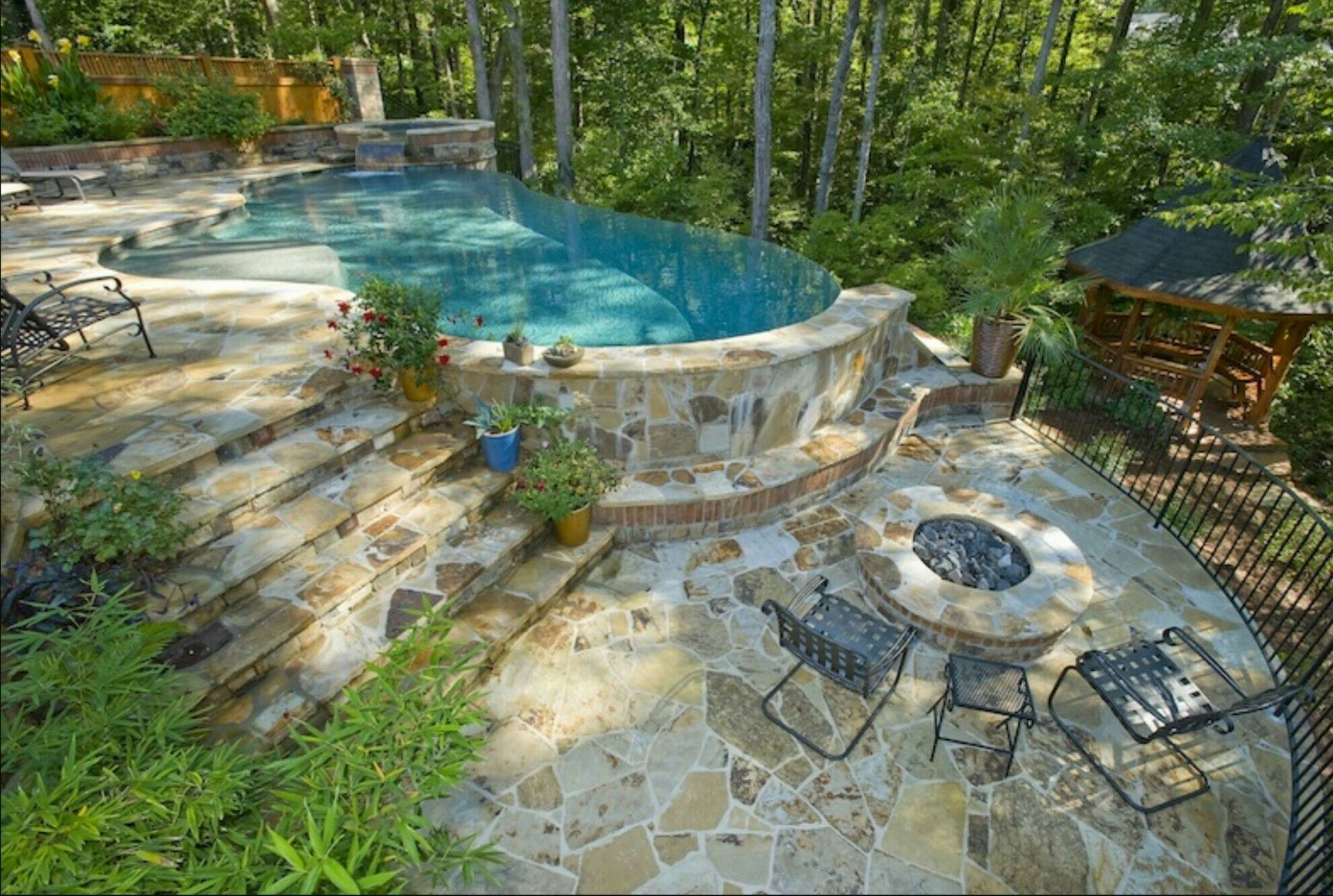 THIS IS THE ONE. Just smaller Hillside Pool | Landscape St. Louis ..