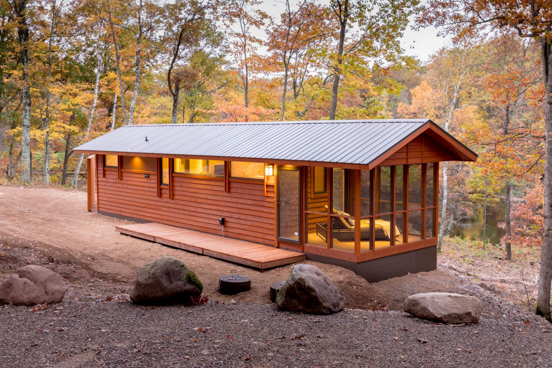 This tiny house in Wisconsin's Northwoods is a big escape | ktvb.com