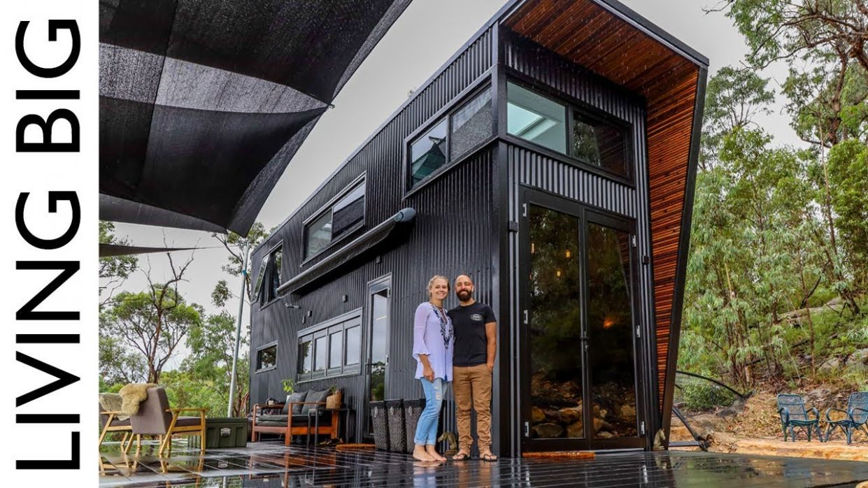 This Ultra Modern Tiny House Will Blow Your Mind - tiny house videos