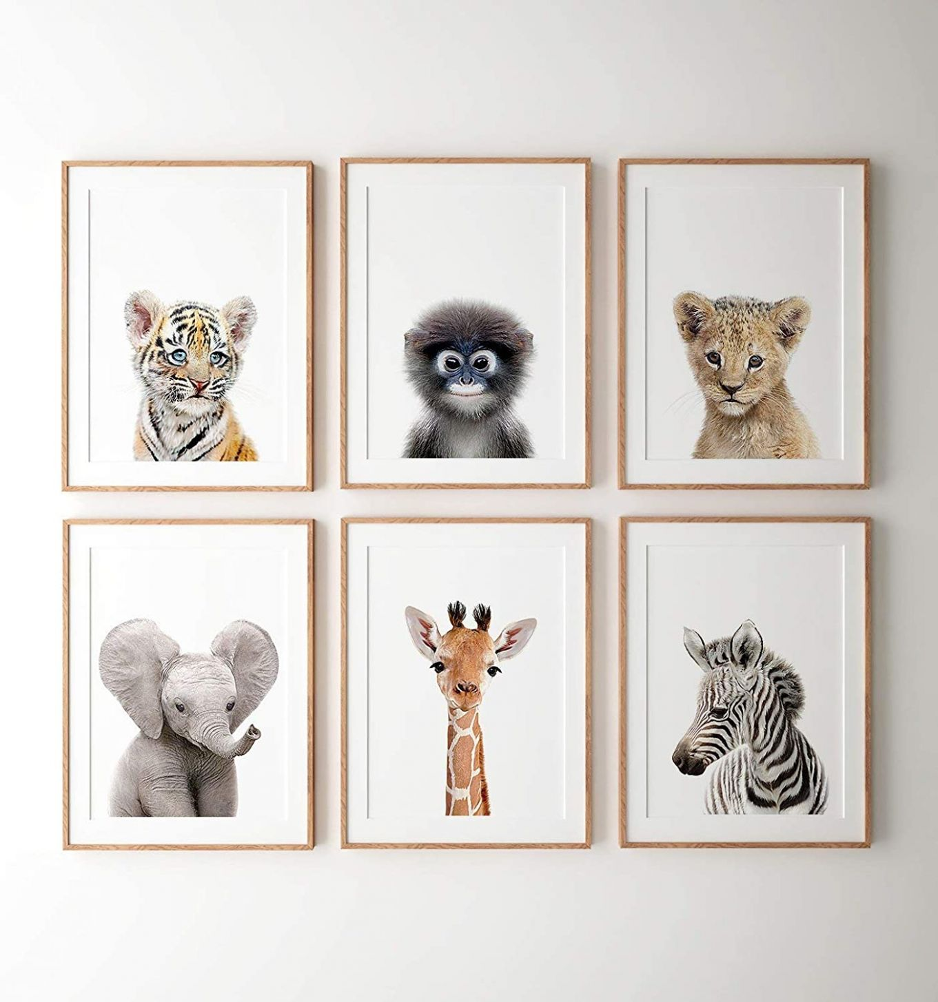 TimPrint Safari nursery decor art Safari animal prints Nursery ...