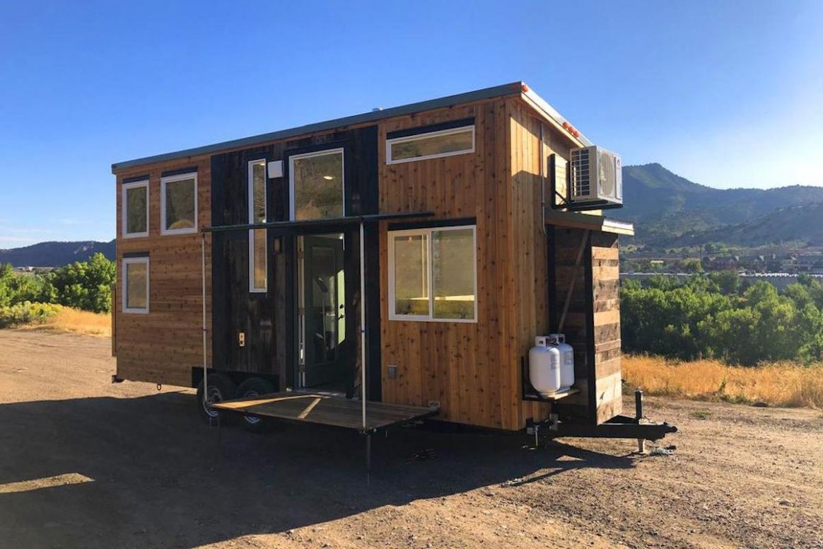 Tiny house offers flexibility with off-grid tech and elevating bed - tiny house cost