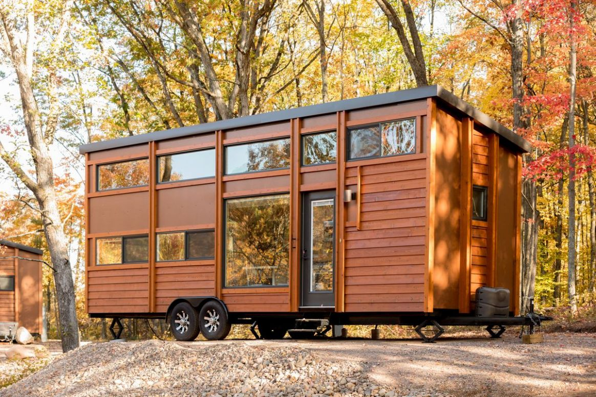 Tiny house village by Escape opens in the Midwest - Curbed - tiny house wisconsin