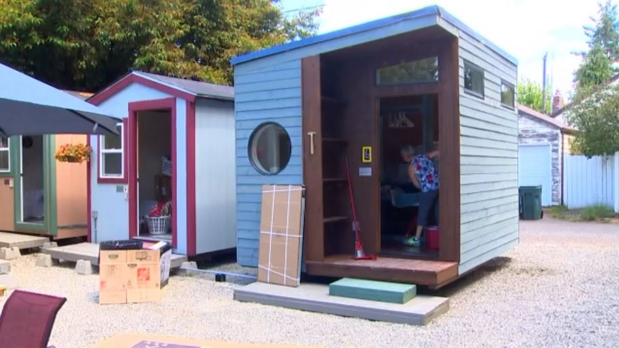 Tiny house village for homeless women to open in Seattle