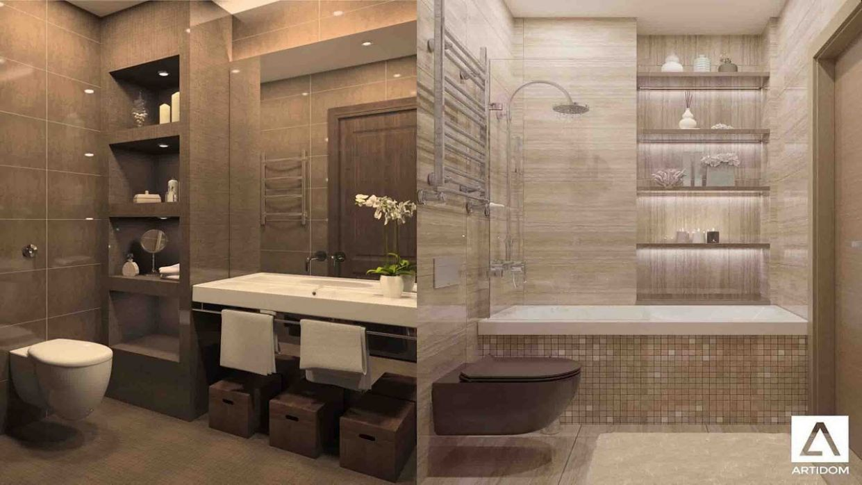 Top 10 Small bathrooms design ideas 10 - bathroom ideas for 2020