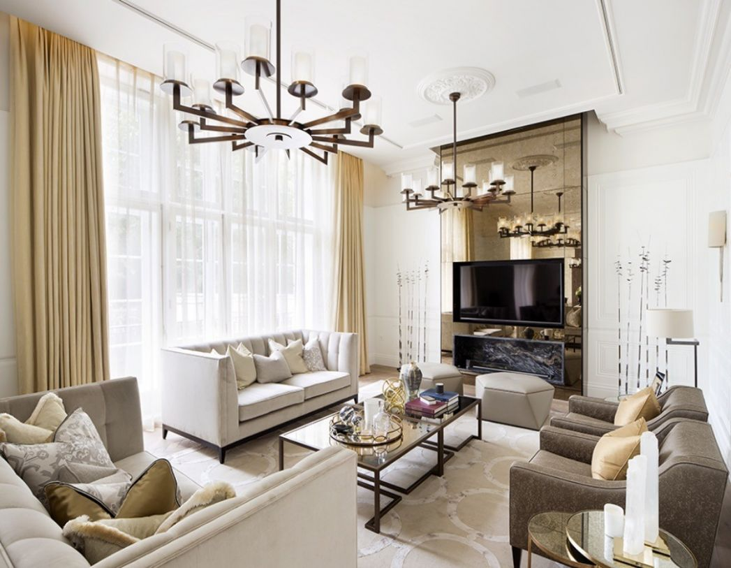 Tour of a Georgian apartment in Mayfair designed by 12 London