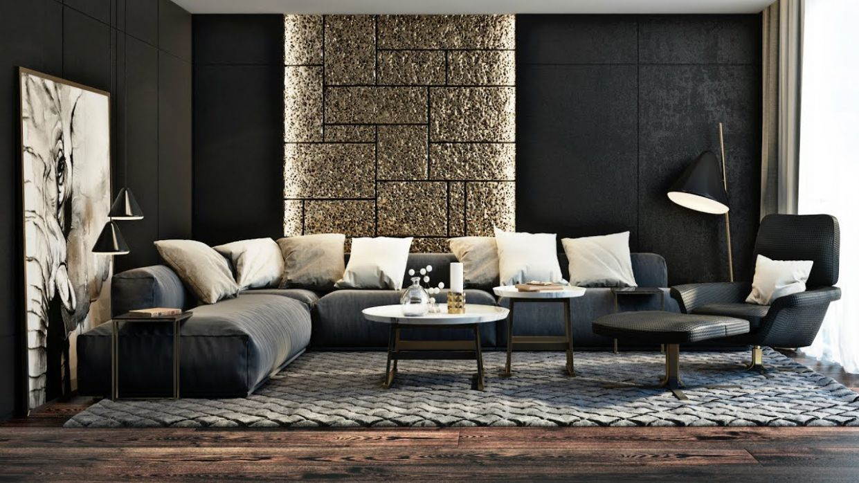 Ultra-Modern Living Room - Design Ideas 9