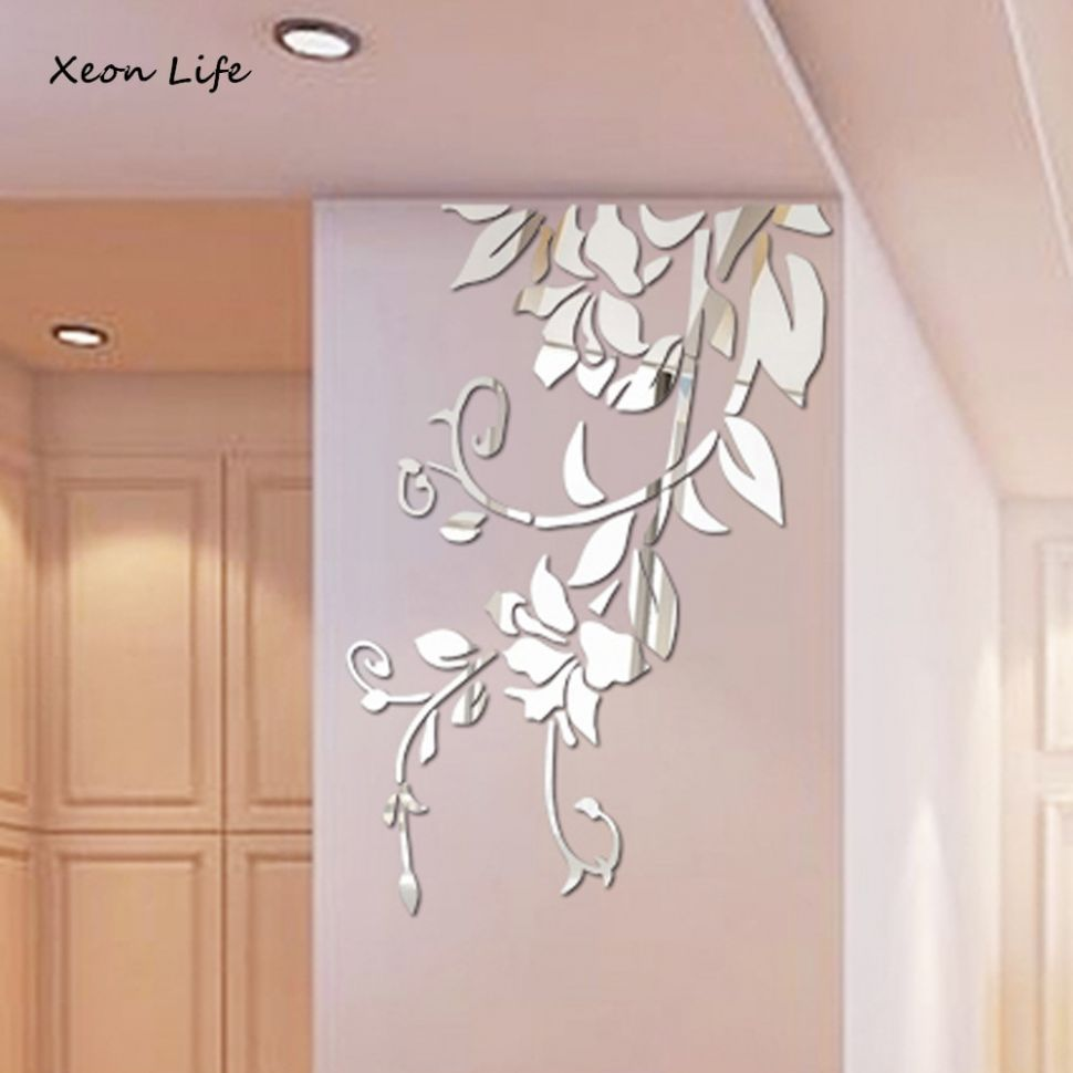 US $11.211 11% OFF|Hot Selling 11D DIY Acrylic Wall Sticker Modern Stickers  Decoration Acrylic Mirror Wall Stickers Diy Home Decor|sticker  decoration|diy ...