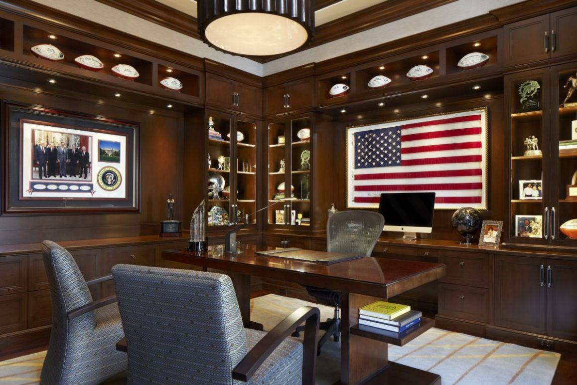 Very masculine home office. | Masculine home offices, Vintage home ...