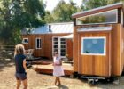 "Vina Lustado	s home-office using 9 tiny houses in ""L"" + deck"