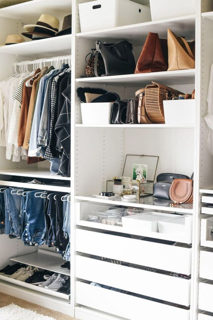 Walk-In Closet Sneak Peek | Bedroom organization closet, Master ...