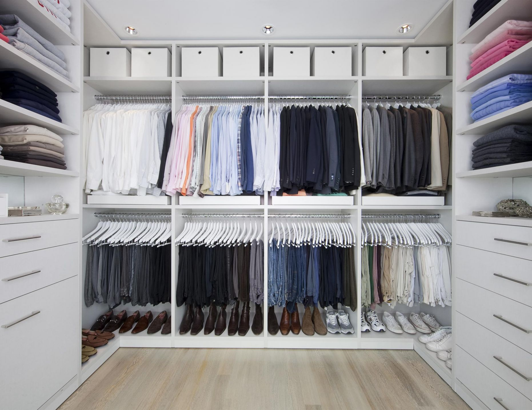 Walk In Closet Systems | Walk-In Closet Design Ideas | California ...