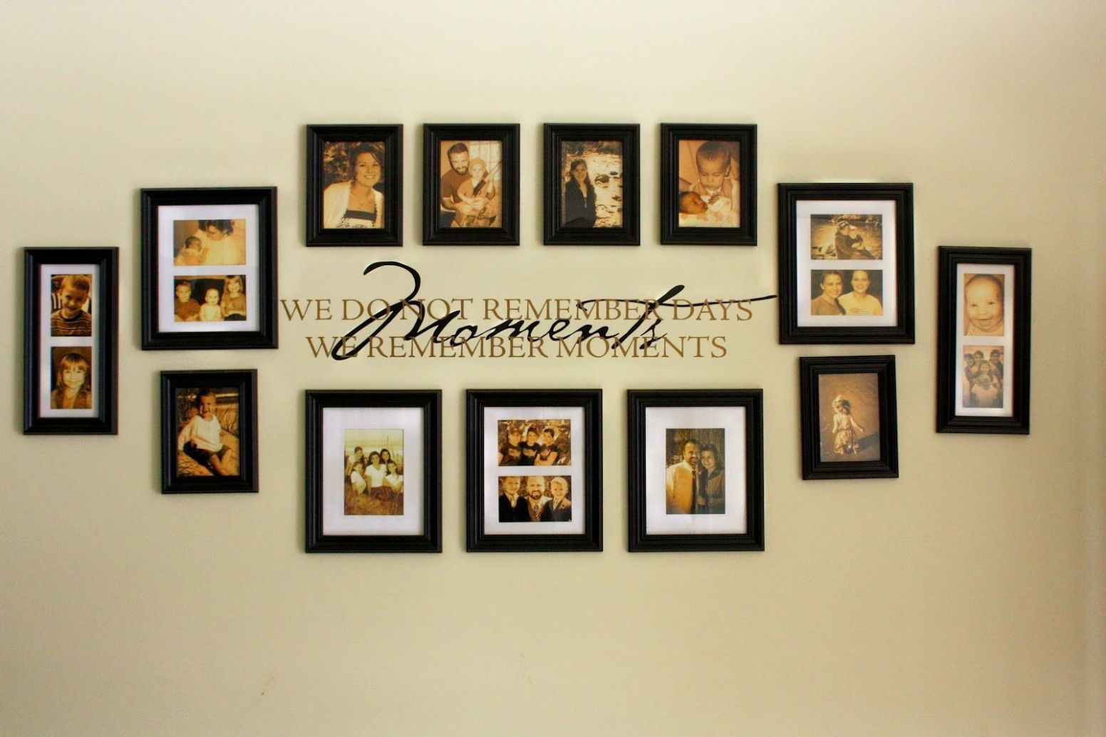 wall collage design ideas - Fanase - wall decor ideas picture frame