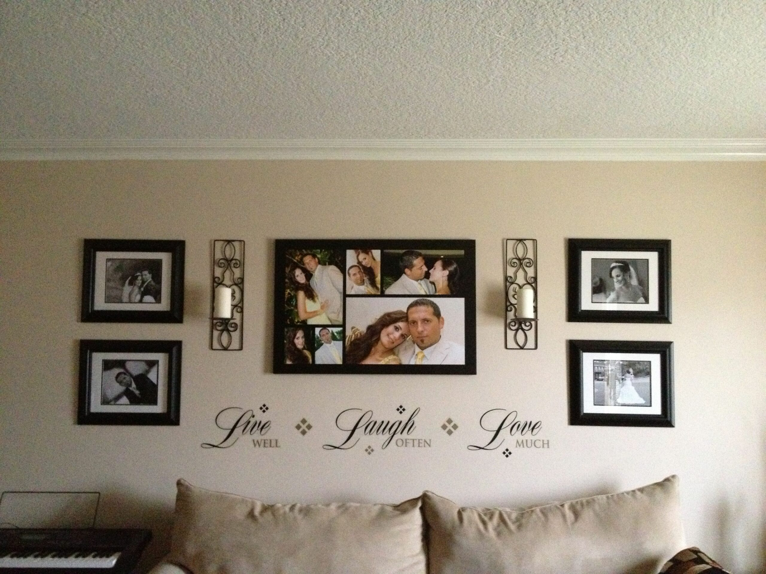 Wall Picture Decor | Wall decor bedroom, Wall decor living room ..