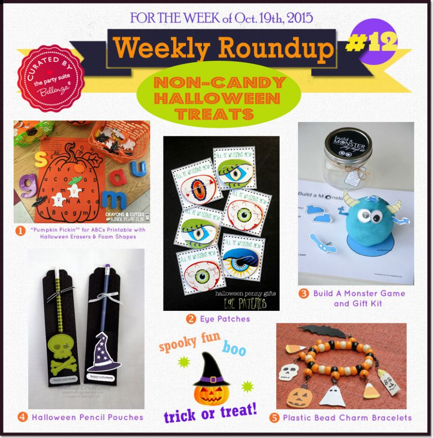 Weekly Roundup #10: Non-candy Kiddie Halloween Treats