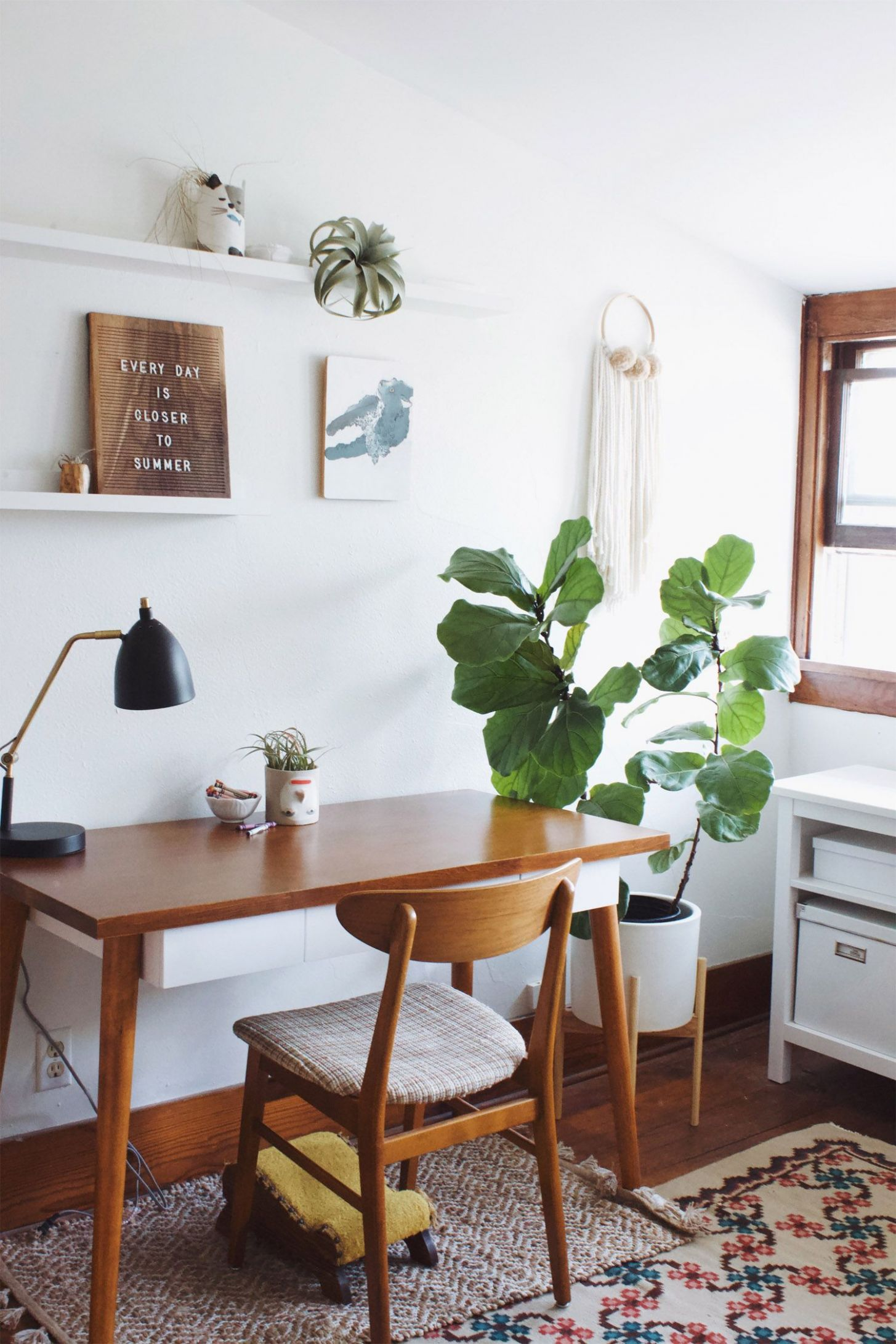 west elm home tour — katherine nizzi | Home decor, Home office ..