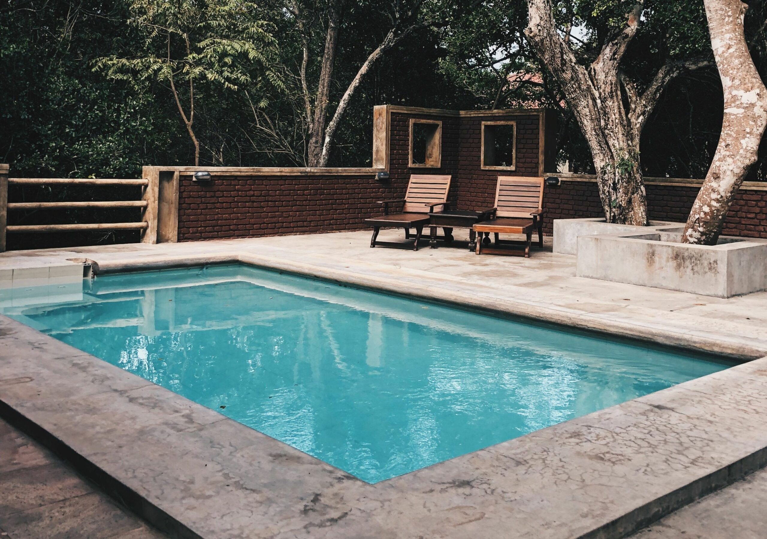 What Is a Cocktail Pool? Designs, Dimensions, Cost, and More - pool ideas rectangle