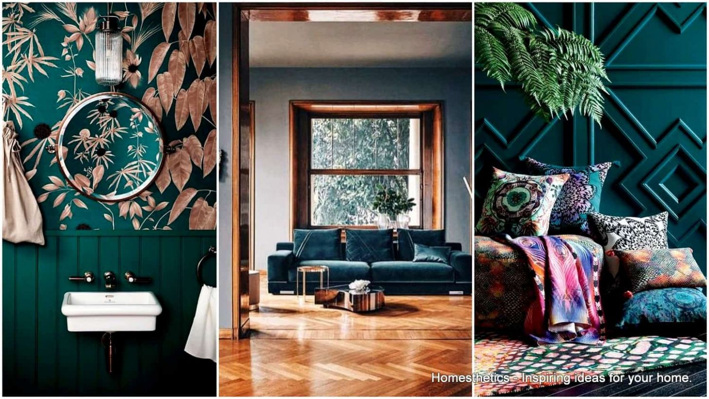 What Is Teal and How To Use It In Interior Design | Homesthetics ..