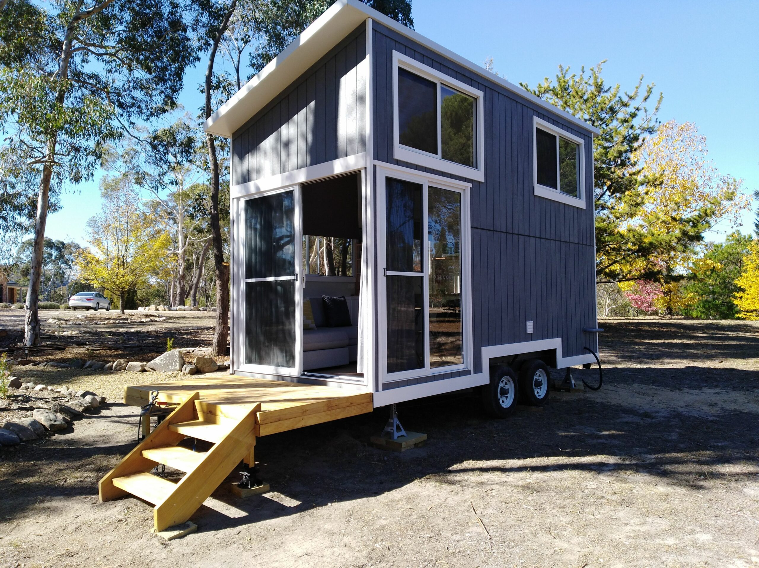 Whispers Tiny house for rental » Tiny Real Estate - tiny house adelaide