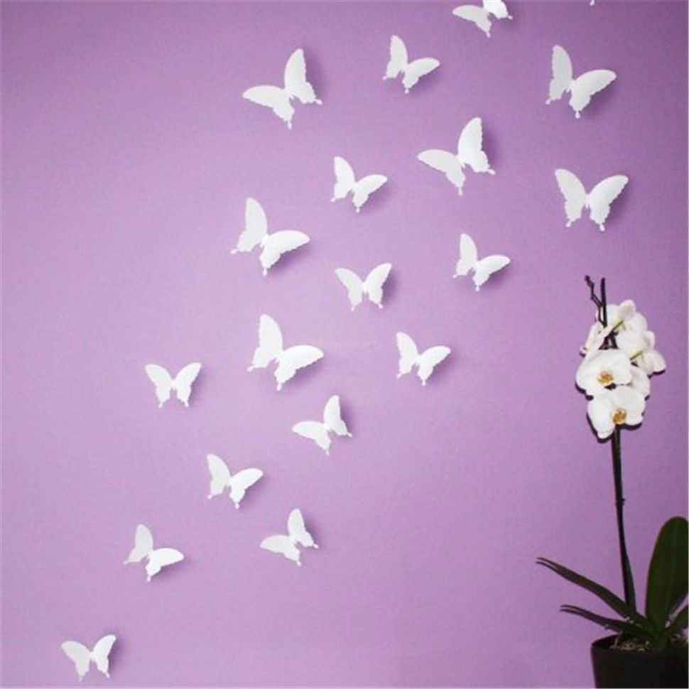 White Butterfly Wall Decor | Butterfly wall decor, Butterfly wall ...