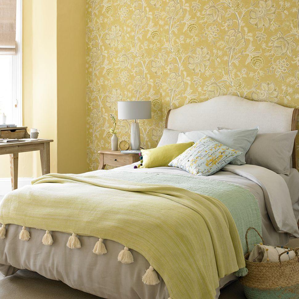 Yellow bedroom ideas for sunny mornings and sweet dreams - bedroom ideas yellow