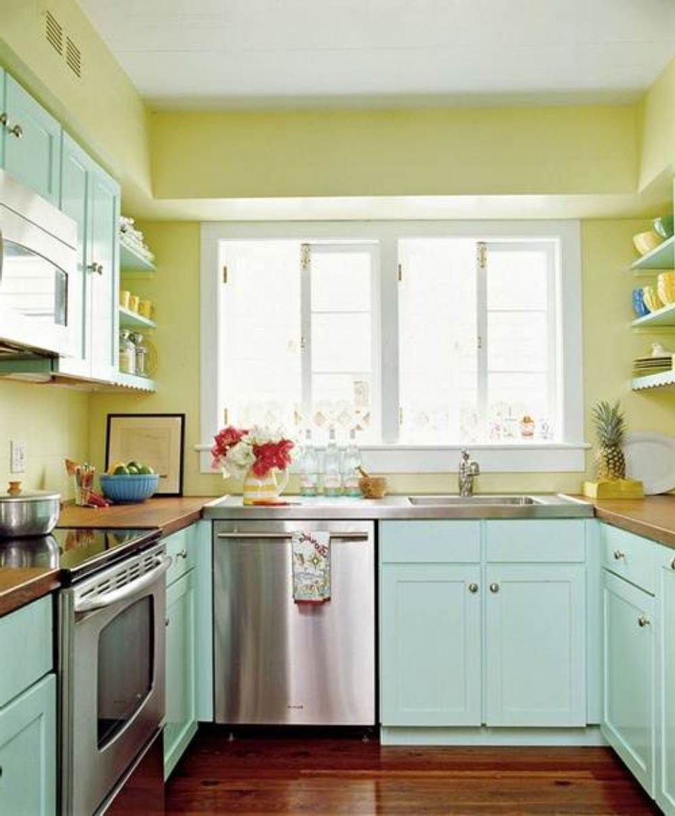Yellow Wall Color Ideas For Small Kitchen : The Best Wall Color ..
