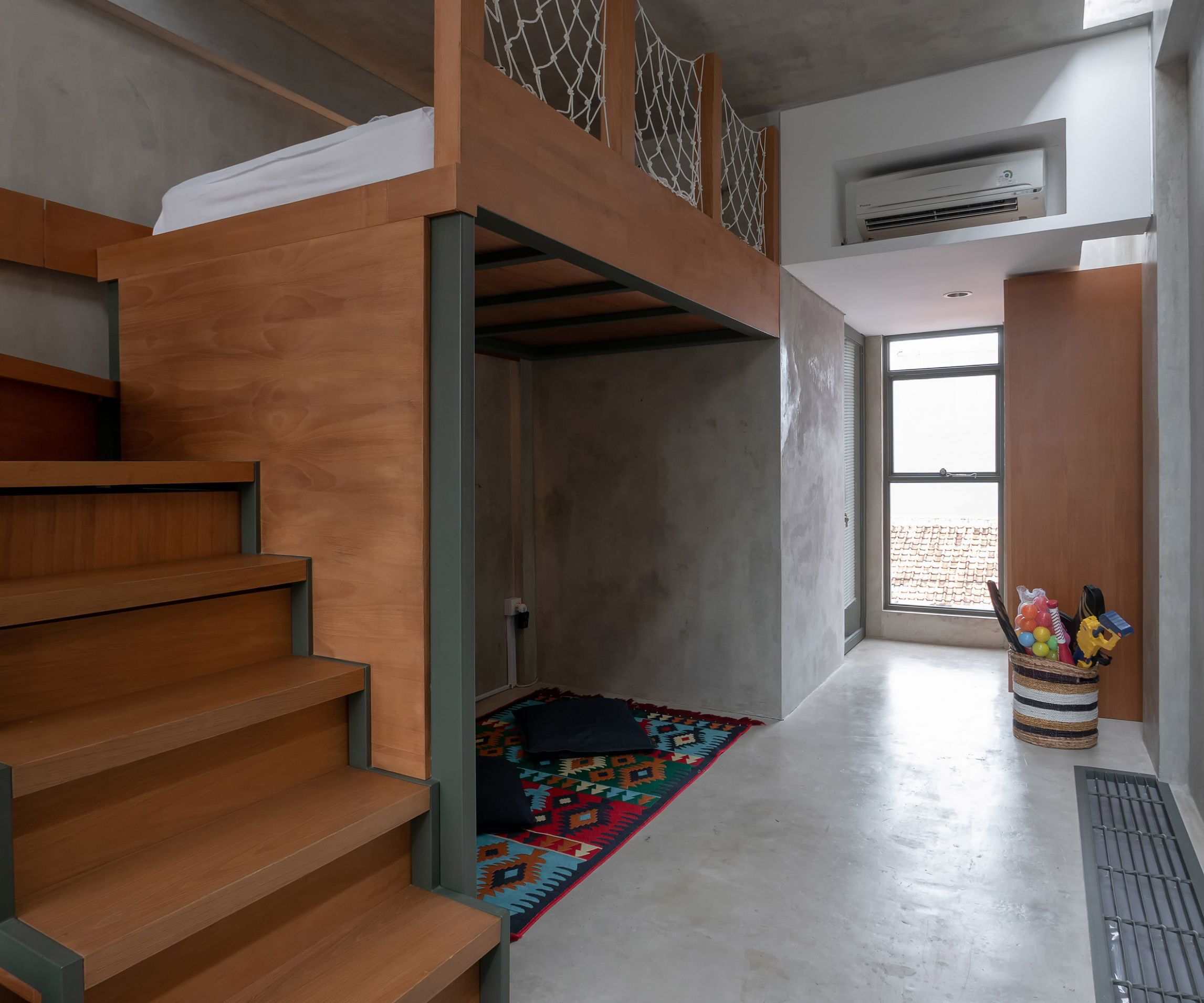 10,10 Millimetre House is a skinny house in Indonesia on a 10.10 ...