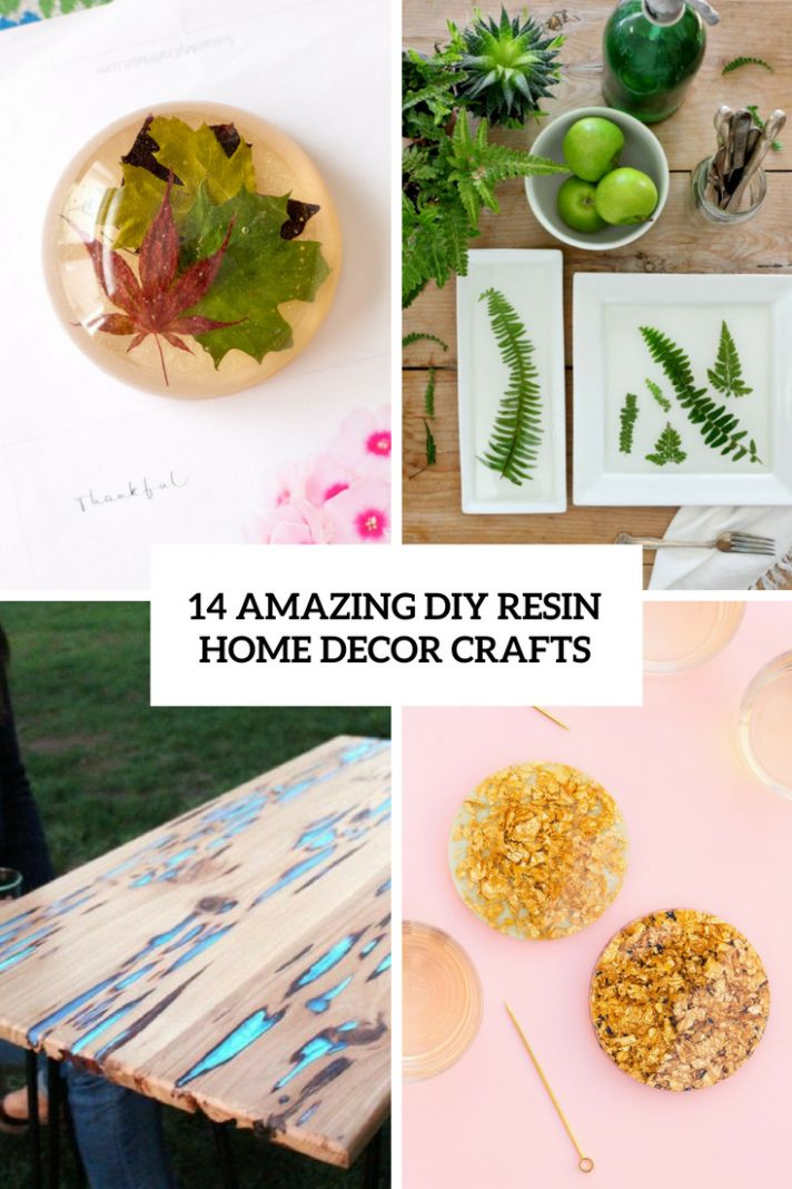 10 Amazing DIY Resin Home Decor Crafts - Shelterness