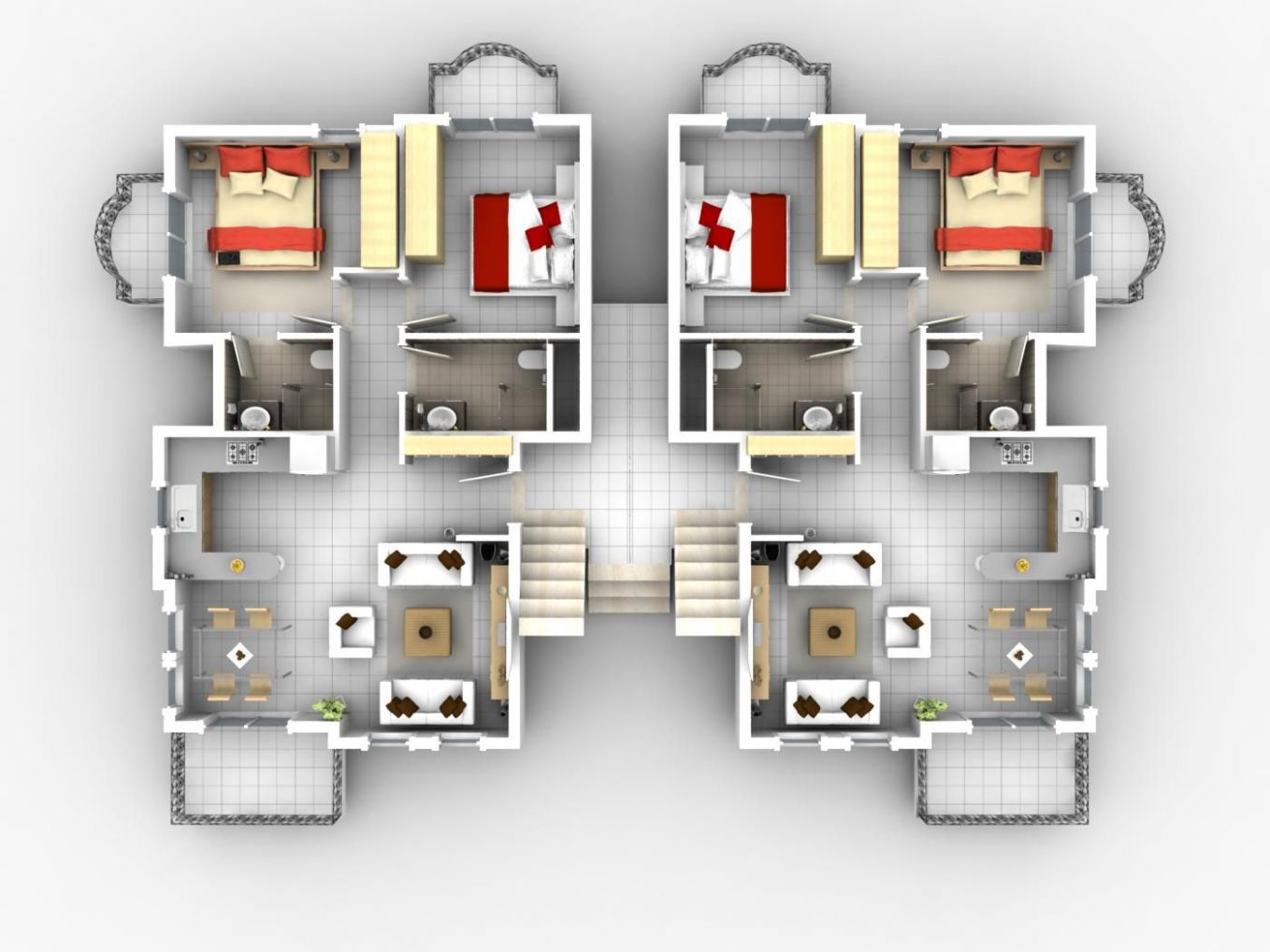 10 Architecture Other Rome Apartments Floor Plans Design House ..