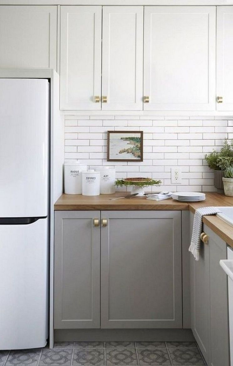 10+ Awesome Simple Small Kitchen Design Ideas Apartment (With ..