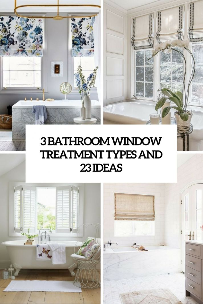 10 Bathroom Window Treatment Types and 210 Ideas - Shelterness
