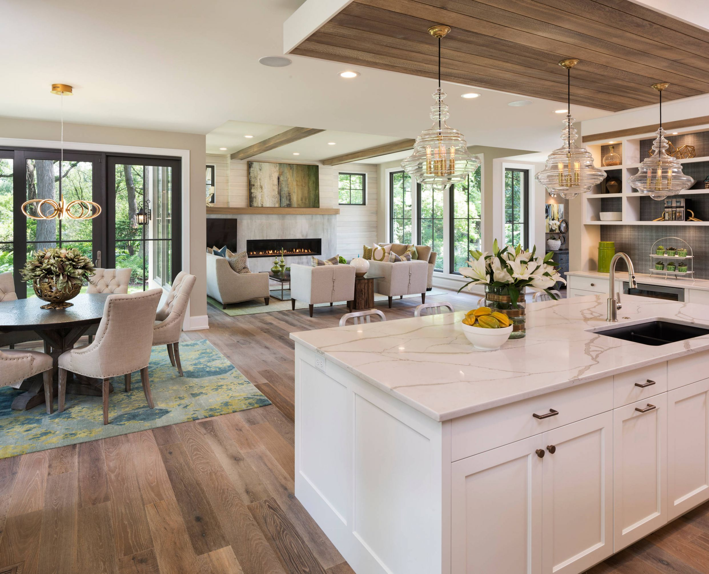 10 Beautiful Transitional Open Concept Kitchen Pictures & Ideas ..