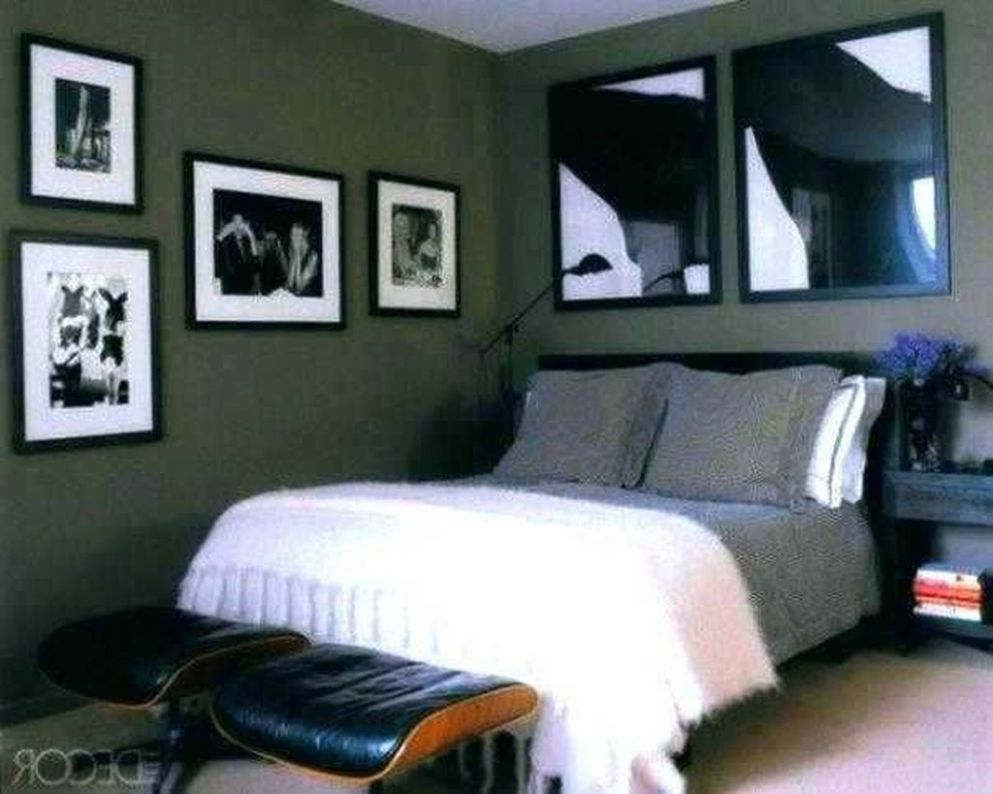 10+ Bedroom Decorating For Guys (With images) | Wall decor bedroom ..