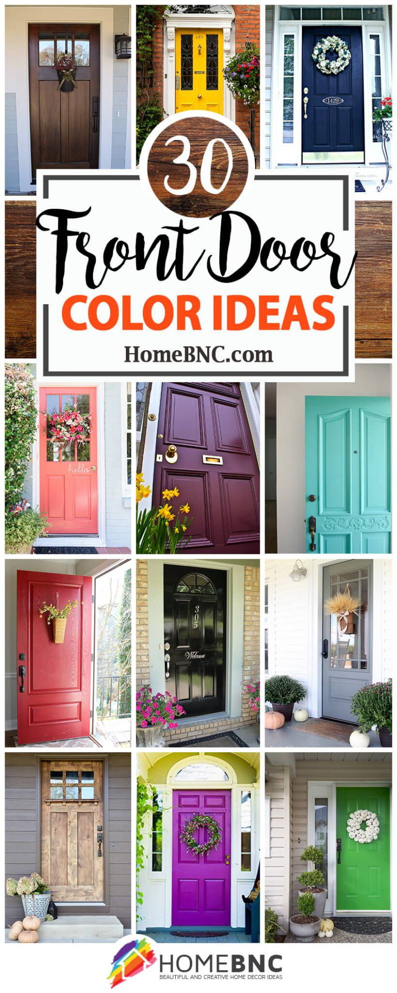 10 Best Front Door Color Ideas and Designs for 10 - window color ideas