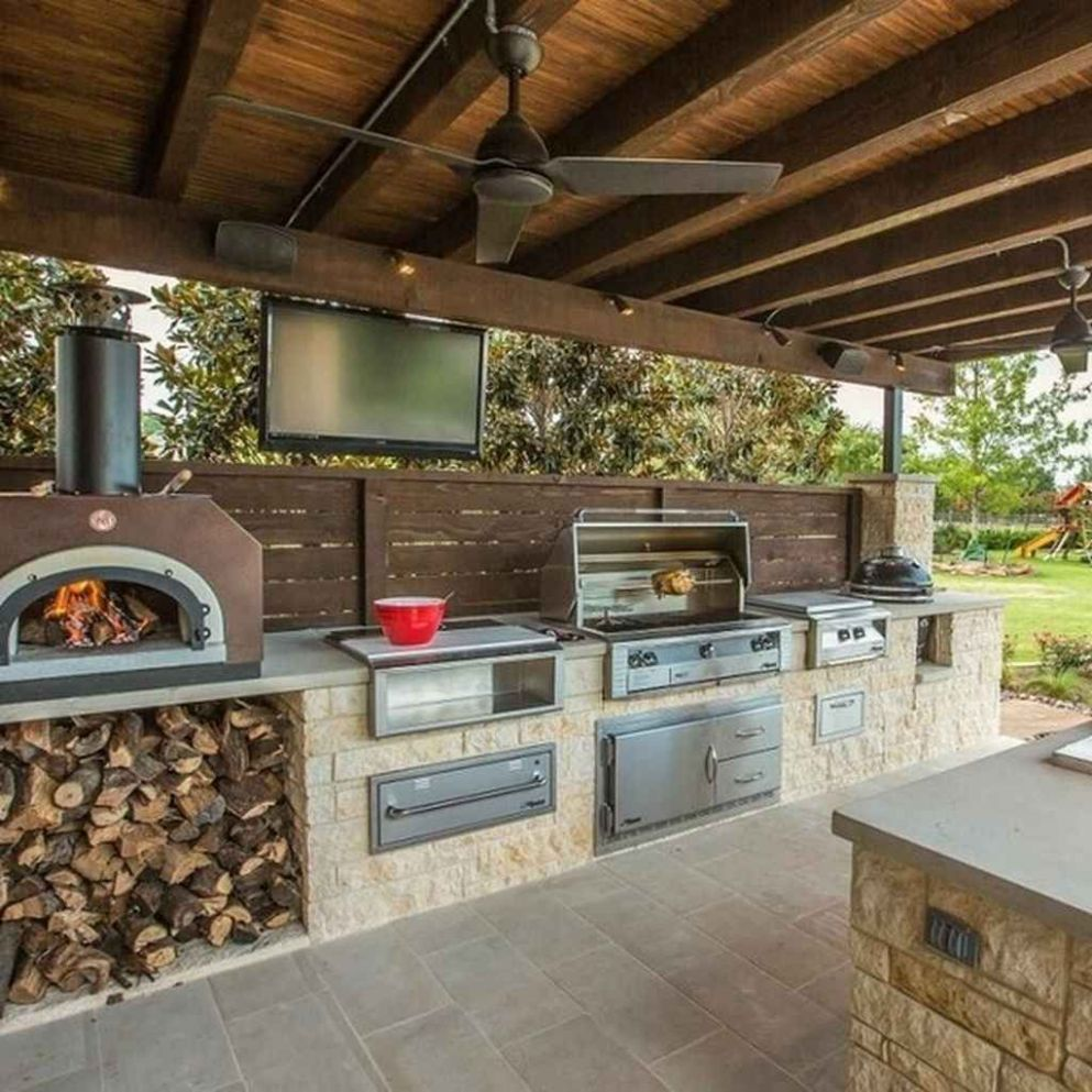 10 Best Outdoor Kitchen and Grill Ideas for Summer Backyard ..