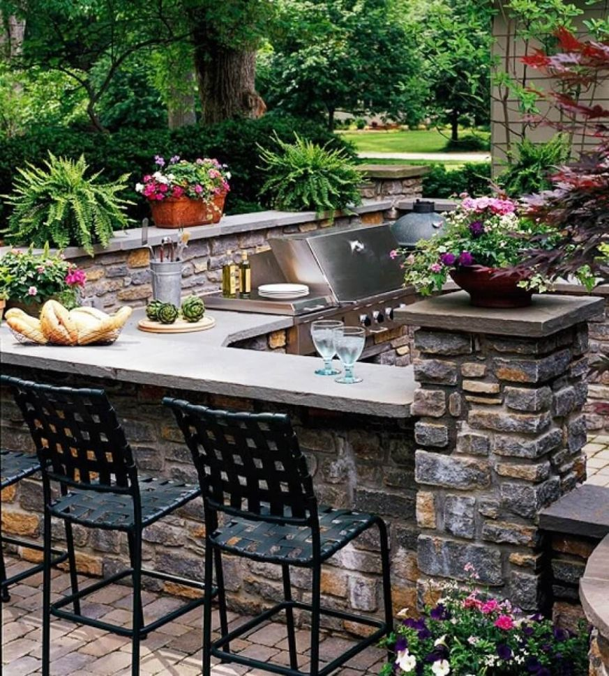 10 Best Outdoor Kitchen Ideas and Designs for 10