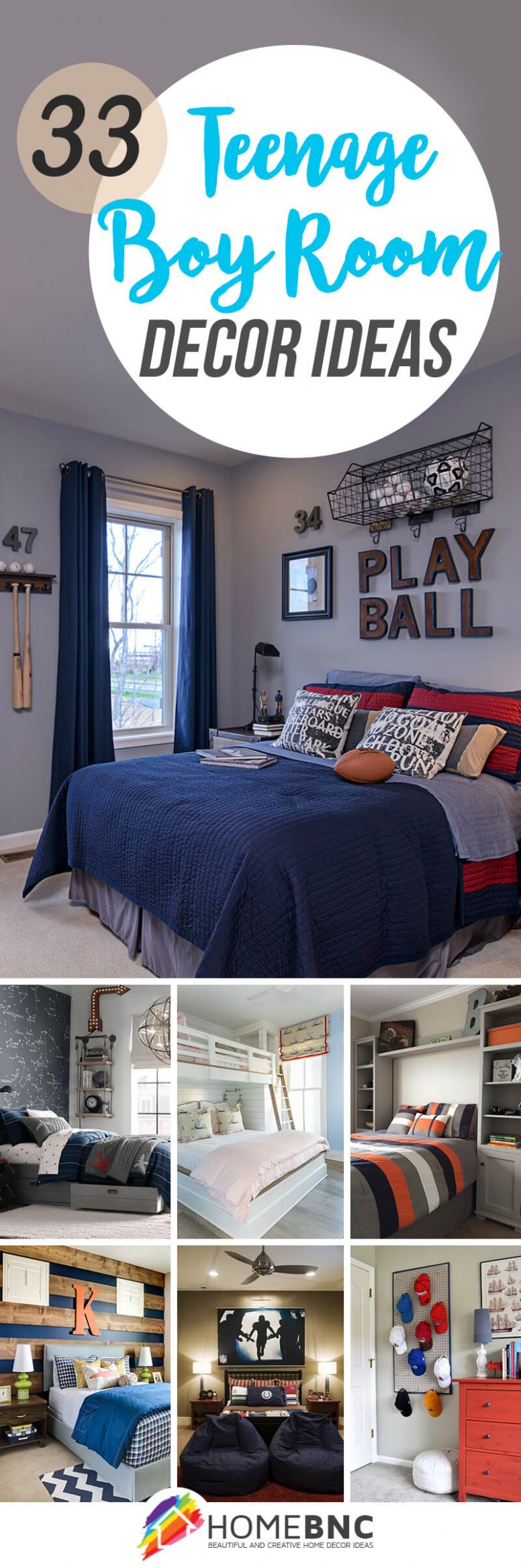 10 Best Teenage Boy Room Decor Ideas and Designs for 10