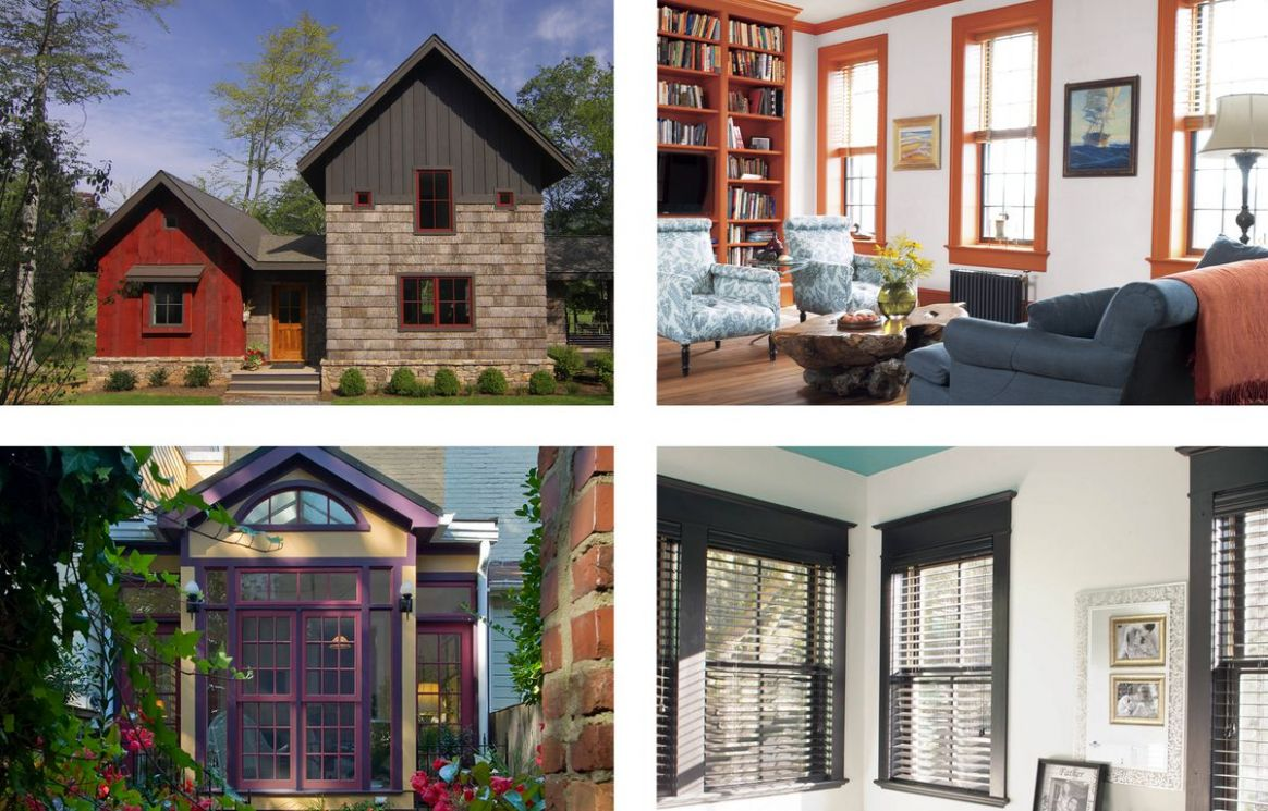 10 Brilliant Ideas for Painting Window Frames - This Old House - window color ideas