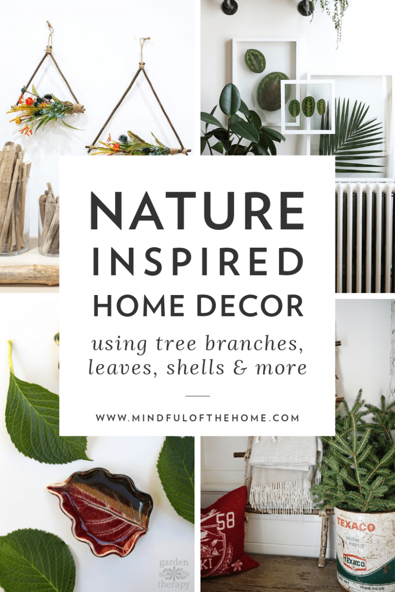 10 Cheap and Easy DIY Nature Decor Ideas in 10 | Diy nature ...