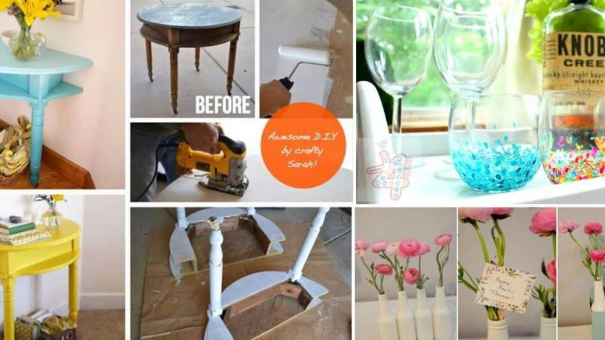10 Cheap and Easy Home Decoration Ideas - Step by step • K10 Craft - diy home decor step by step