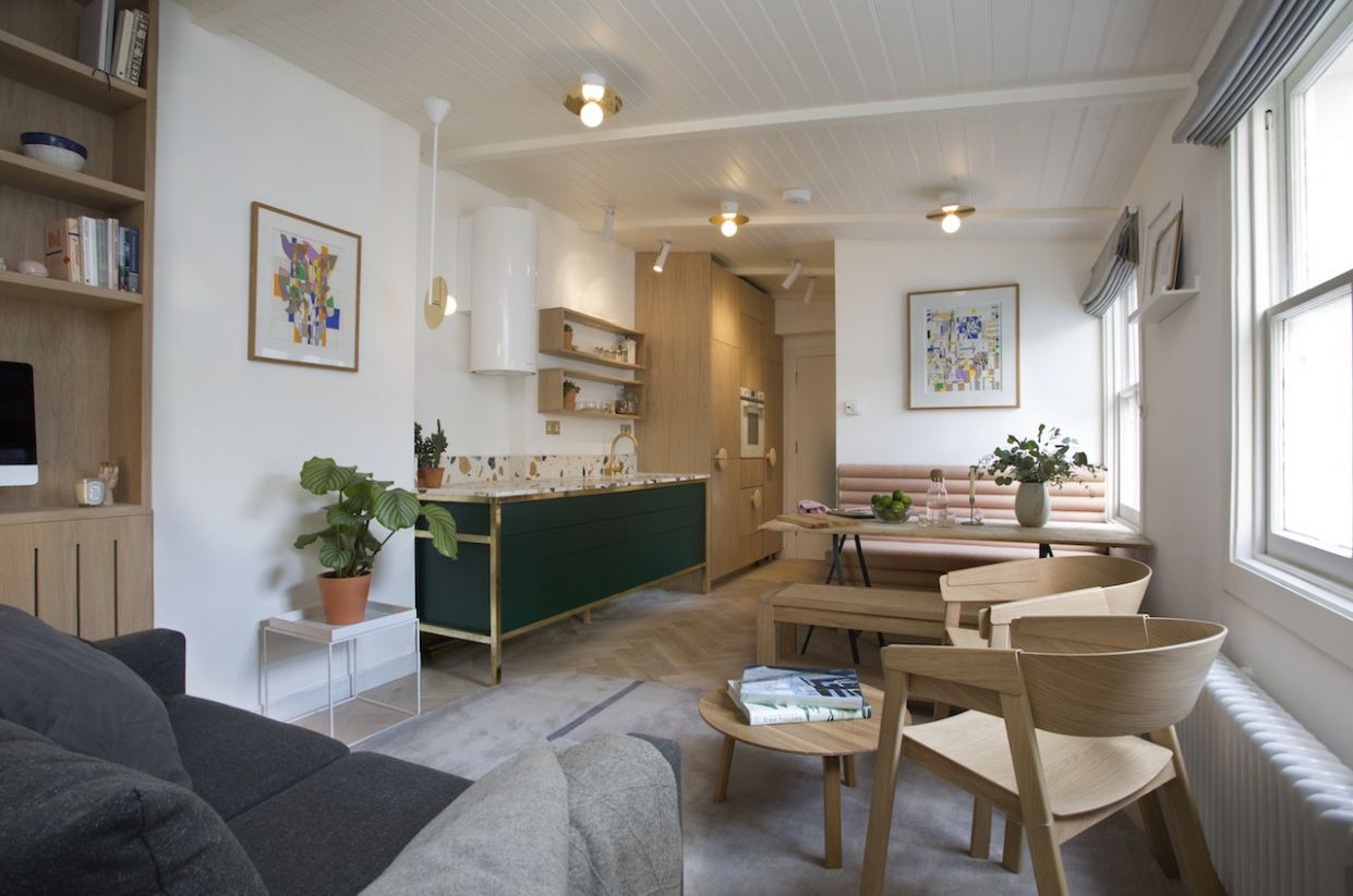 10 Clever Design Ideas For Small City Apartments - design apartment party zone