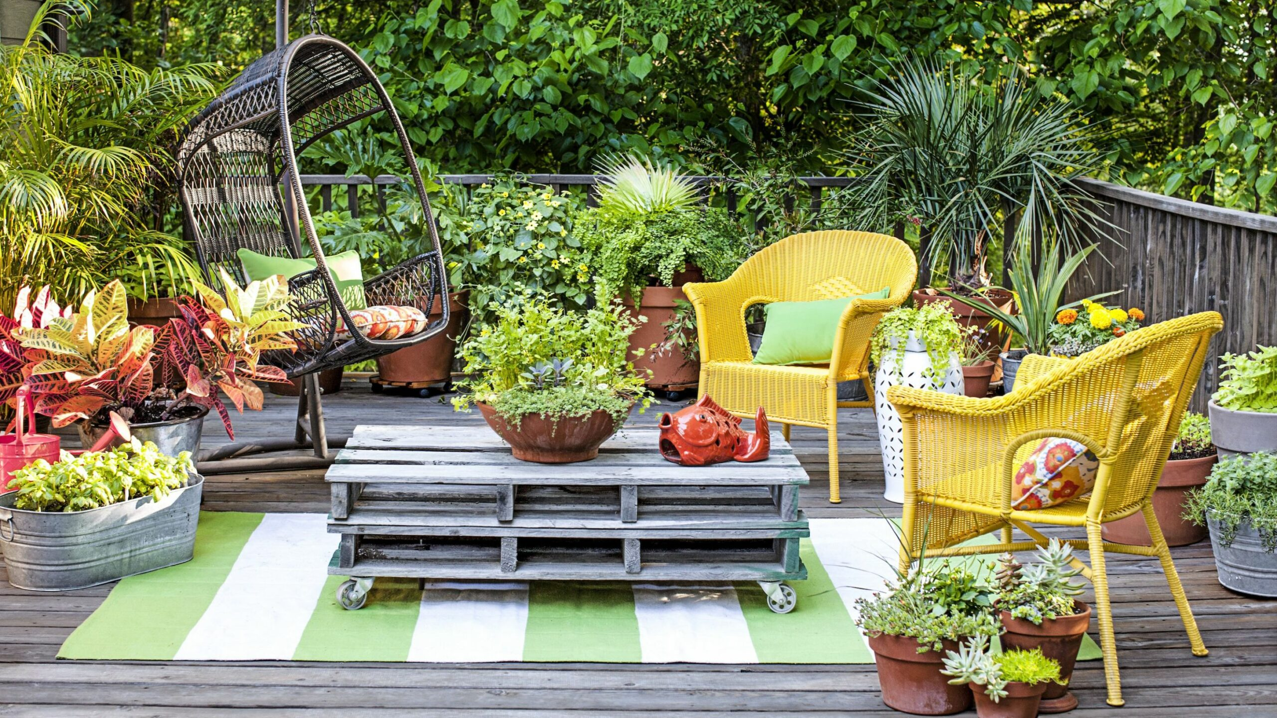 10 Container Gardening Ideas - Potted Plant Ideas We Love - garden ideas with pots