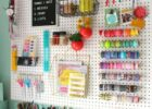 10 Craft Room Wall Decor Ideas (10) - artmyideas